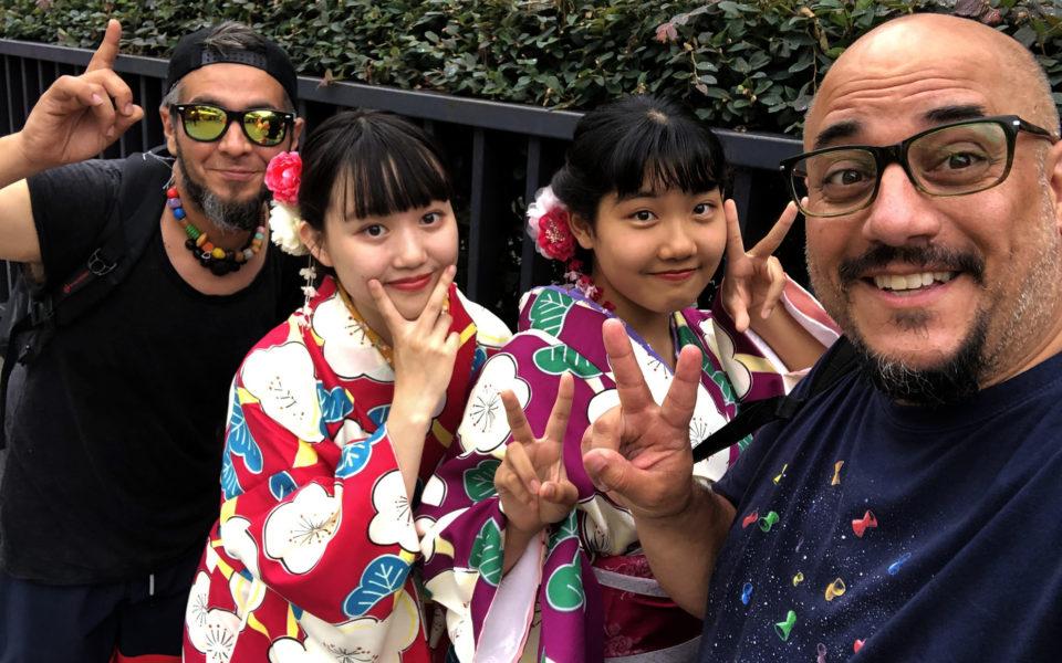 El Hijo de la Cumbia y Fierita Catalano en Japón